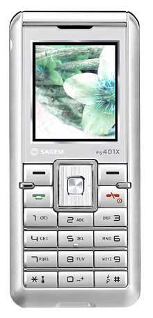 foto del cellulare Sagem My 401x