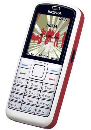 foto del cellulare Nokia 5070