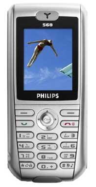 foto del cellulare Philips 568