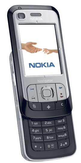 foto del cellulare Nokia 6110 Navigator
