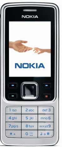 foto del cellulare Nokia 6300