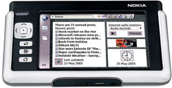 foto del cellulare Nokia 770