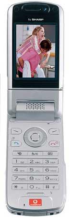 foto del cellulare Sharp 802