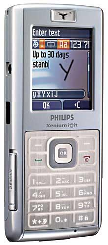 foto del cellulare Philips Xenium 9@9t