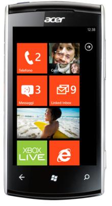 foto del cellulare Acer Allegro