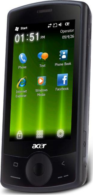 foto del cellulare Acer E101 beTouch