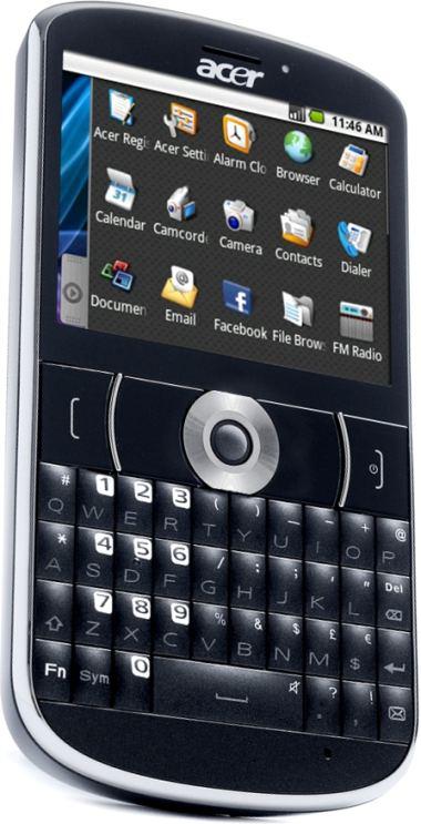 foto del cellulare Acer E130 beTouch