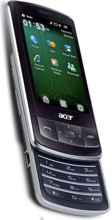 foto del cellulare Acer E200 beTouch