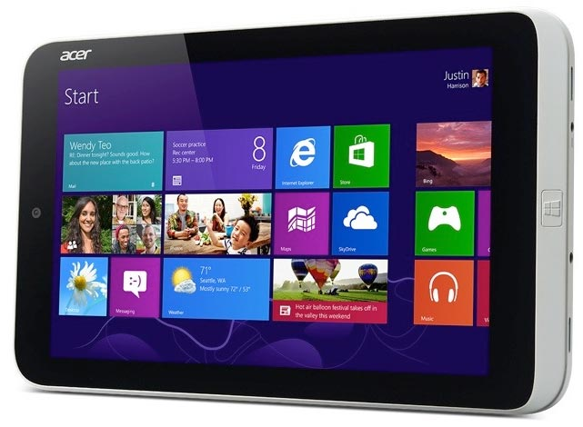 foto del cellulare Acer Iconia W3
