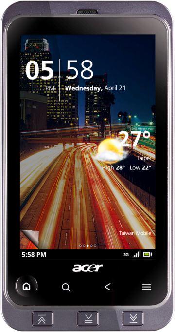 foto del cellulare Acer Stream