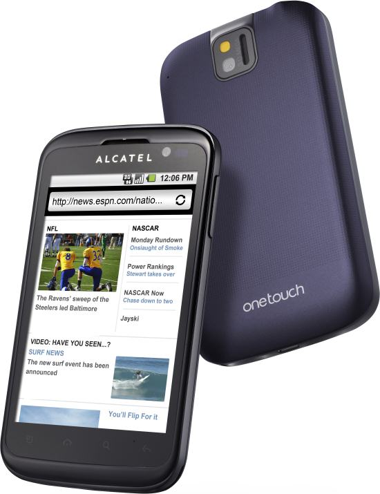 foto del cellulare Alcatel One Touch 991 Smart