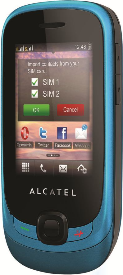 foto del cellulare Alcatel One Touch Duet Go