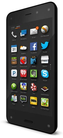 foto del cellulare Amazon Fire Phone