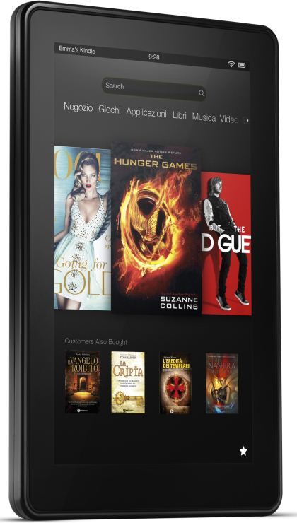 foto del cellulare Amazon Kindle Fire