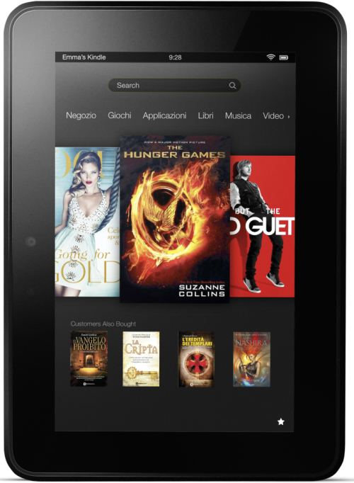 foto del cellulare Amazon Kindle Fire HD