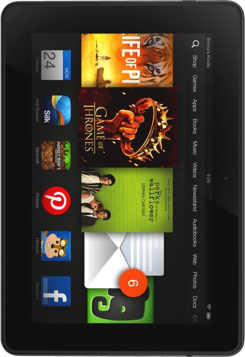 foto del cellulare Amazon Kindle Fire HD 2013
