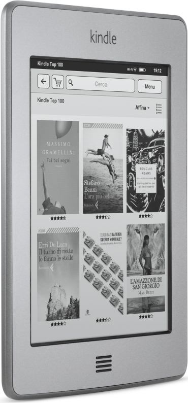 foto del cellulare Amazon Kindle Touch