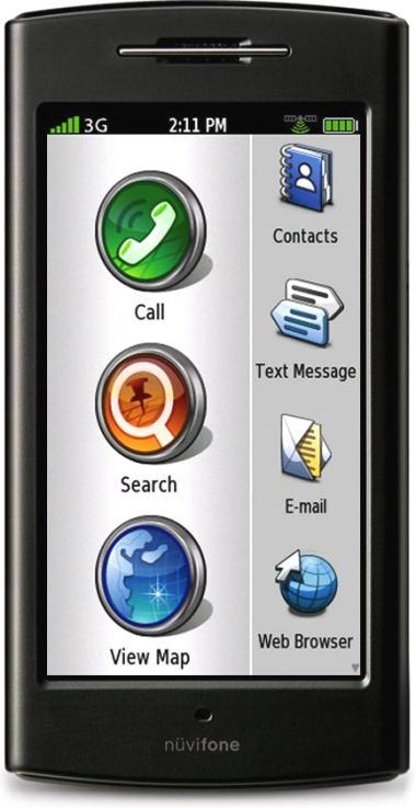 foto del cellulare Asus Nuvifone G60
