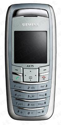 foto del cellulare Siemens AX 75