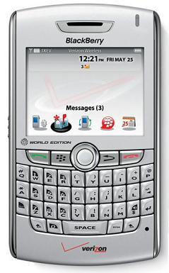 foto del cellulare Rim BlackBerry 8830 World Edition