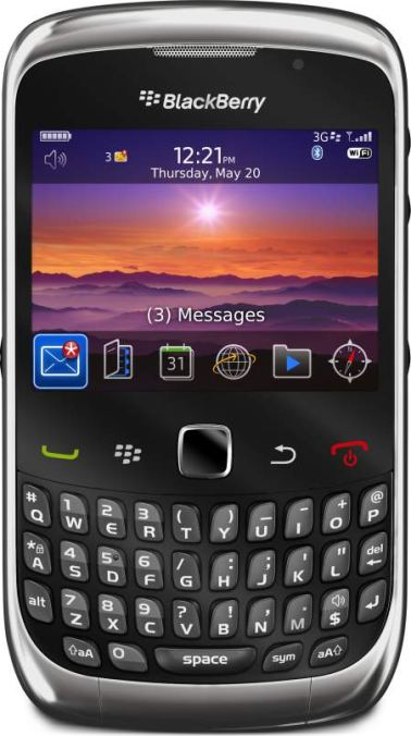 foto Rim BlackBerry 9300 Curve 3G