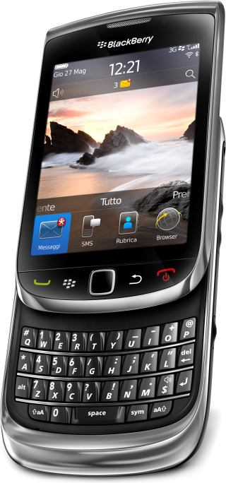 foto del cellulare Rim BlackBerry 9800 Torch