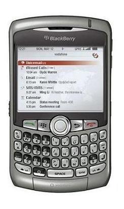 foto del cellulare Rim BlackBerry 8310 Curve