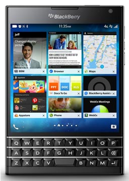 foto del cellulare Blackberry Passport