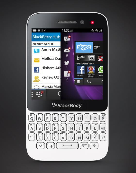 foto del cellulare BlackBerry Q5