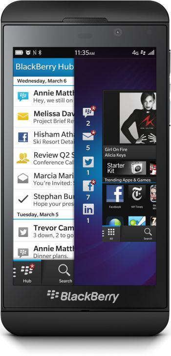 foto del cellulare BlackBerry Z10