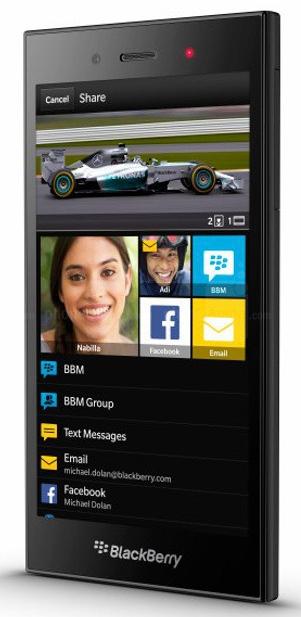 foto del cellulare BlackBerry Z3