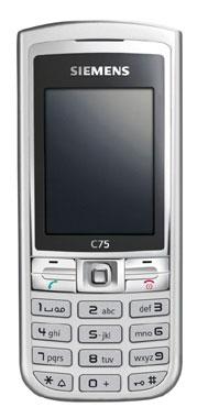 foto del cellulare Siemens C75