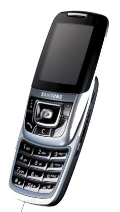 foto del cellulare Samsung D600