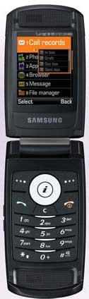 foto del cellulare Samsung D830