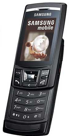 foto del cellulare Samsung D840
