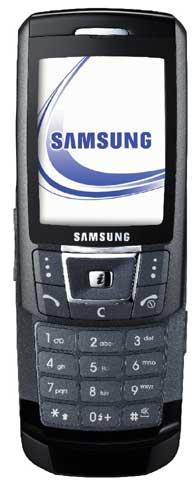foto del cellulare Samsung D870