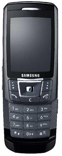 foto del cellulare Samsung D900i