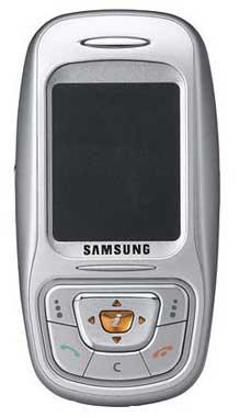 foto del cellulare Samsung E350