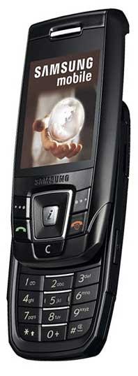 foto del cellulare Samsung E390