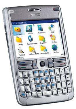 foto del cellulare Nokia E61