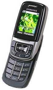 foto del cellulare Samsung E630