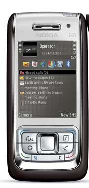 foto del cellulare Nokia E65