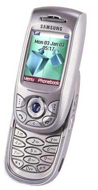 foto del cellulare Samsung E800