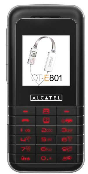 foto del cellulare Alcatel OT-E801