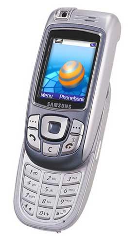 foto del cellulare Samsung E810