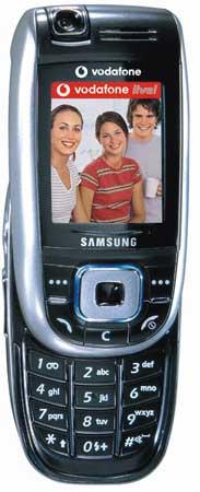foto del cellulare Samsung E860