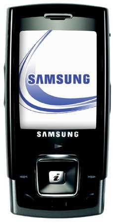 foto del cellulare Samsung E900