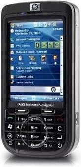 foto del cellulare Hp iPAQ 610c