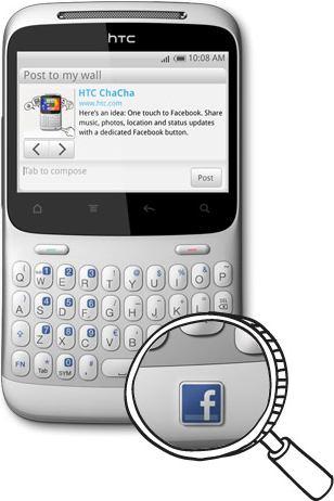 Facebook telefono HTC