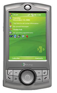 foto del cellulare Htc Advantage X7500